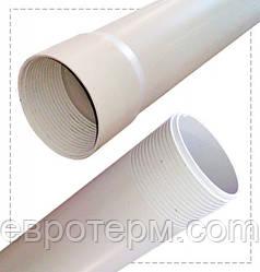 Обсадная труба для скважин 90 Evci Plastik белая 3м