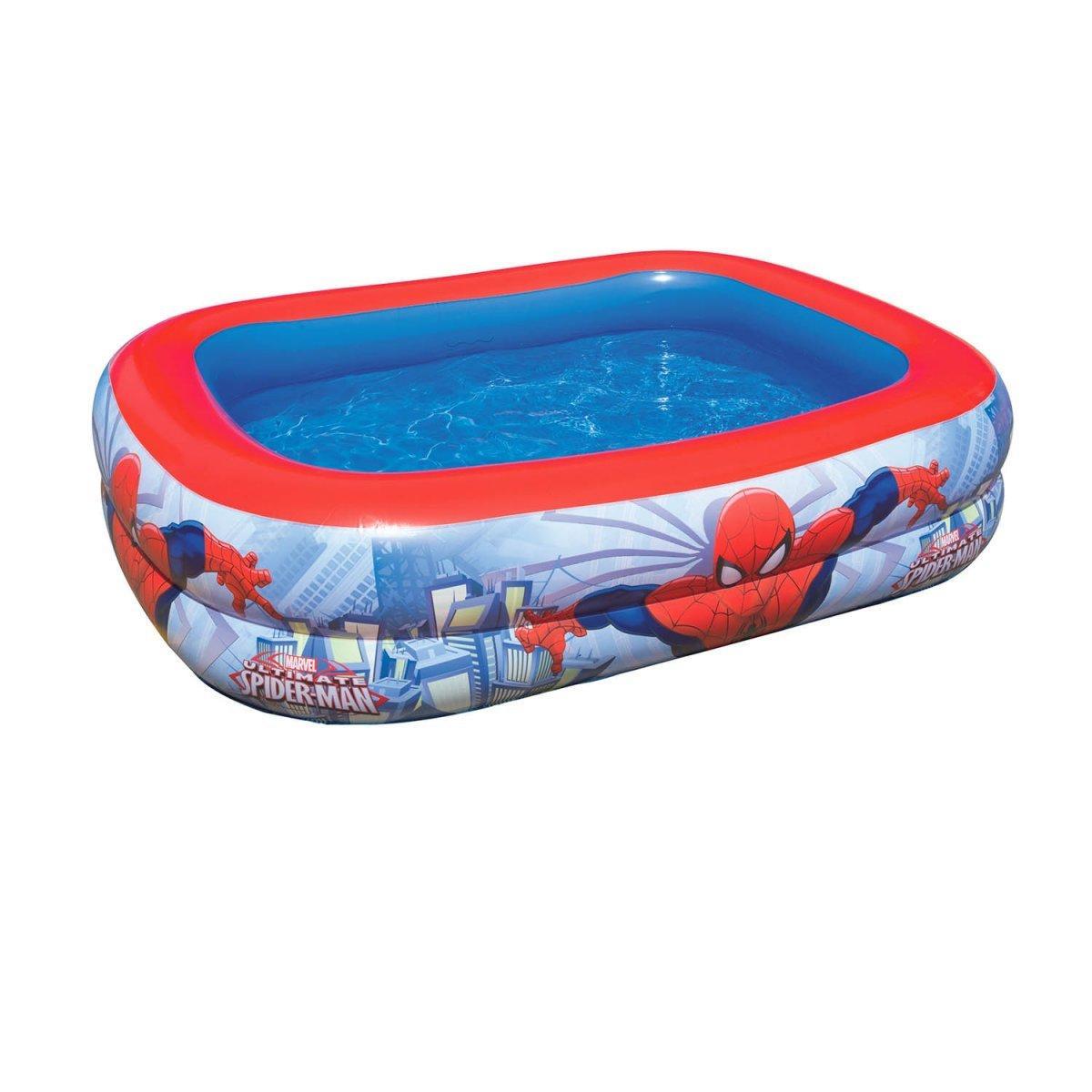 """Детский надувной бассейн Bestway """"Человек-Паук""""  201х150х51 cм  (98011)"""