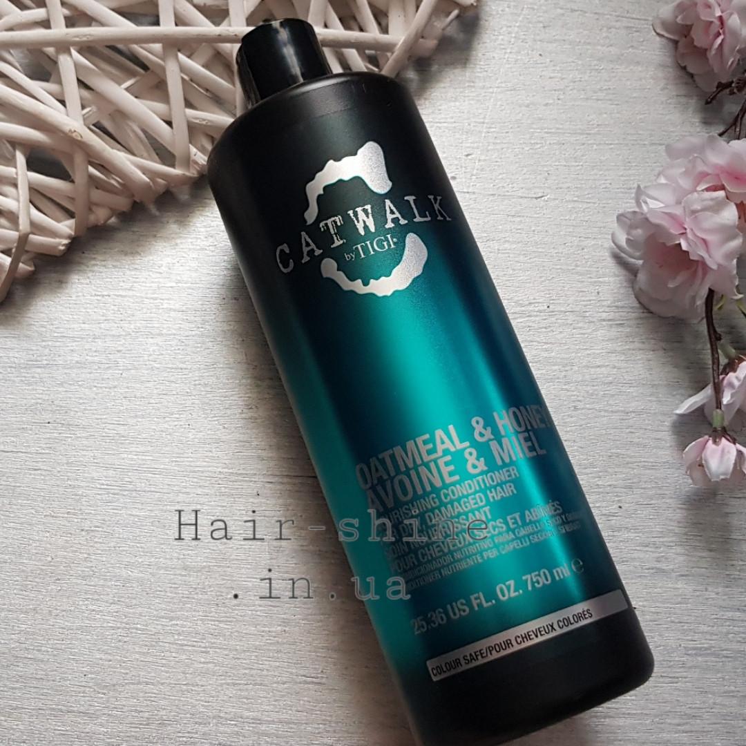 Кондиционер восстанавливающий для волос Tigi Catwalk Oatmeal & Honey Conditioner 750 ml