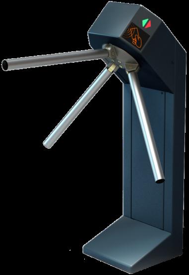 Турникет трипод Lot Expert, окрашенная сталь, электроприводной, штанга алюминий, Mifare-id + Mifare-id