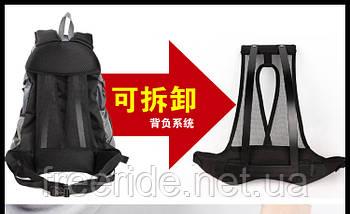 Рюкзак велосипедный, велорюкзак с каркасной спинкой Mountаinpeak (32л) синий, фото 2