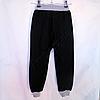 """Спортивные штаны (Реплика) """"Everlast"""" для мальчиков (5-8 лет) Темно синие с серым трикотажные, фото 4"""