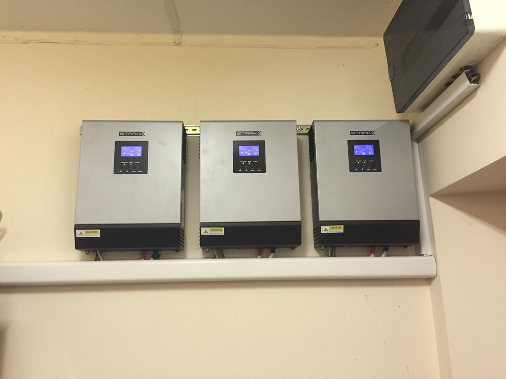 Параллельная установка источников бесперебойного питания Stark Country 5000 INV PWM 2