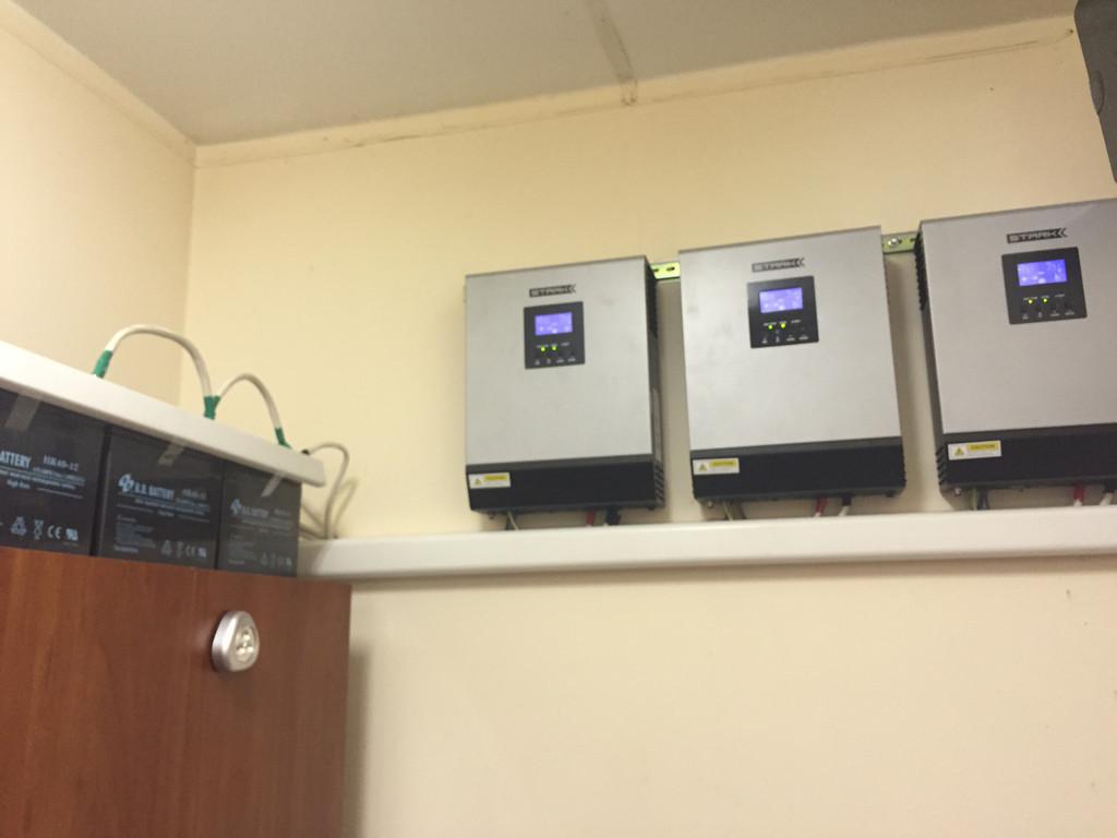 Параллельная установка источников бесперебойного питания Stark Country 5000 INV PWM 3
