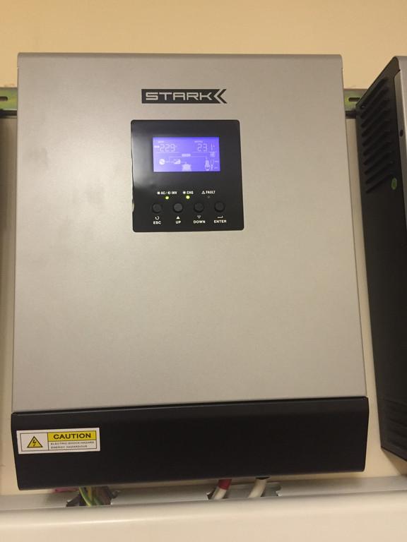 Параллельная установка источников бесперебойного питания Stark Country 5000 INV PWM 4
