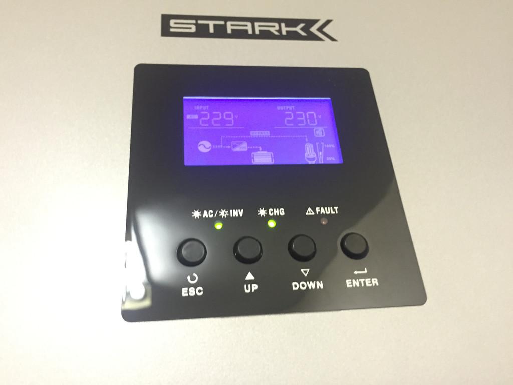 Параллельная установка источников бесперебойного питания Stark Country 5000 INV PWM 5