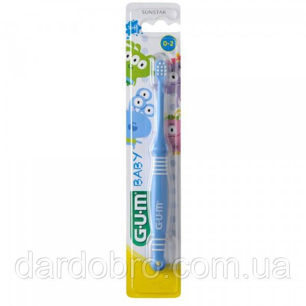 Зубная щетка GUM BABY MONSTER