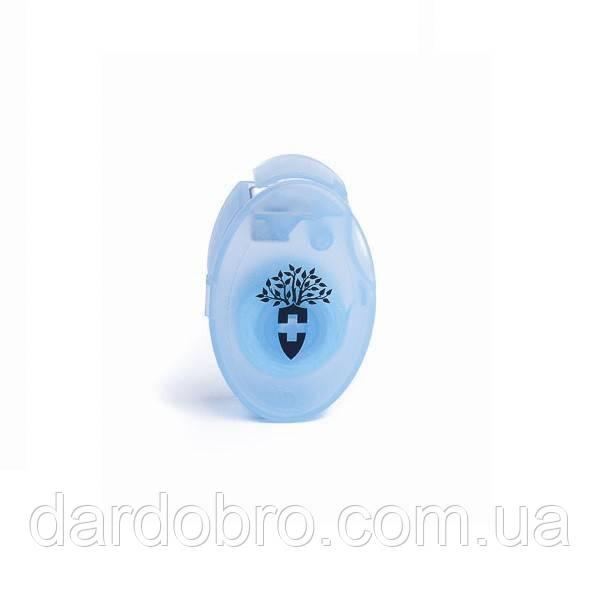 """Шелковая лента для зубов MontCarotte цвет """"Светло голубой"""" 10 м"""