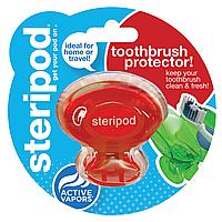 Антибактериальный чехол для зубной щетки Steripod, вулканов красный (в упаковке 1 шт.)