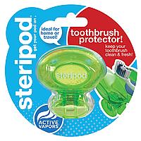 Антибактериальный чехол для зубной щетки Steripod, зеленая зависть (в упаковке 1 шт.)