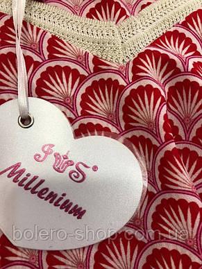 Женская майка Millenium Италия розовая чешуя , фото 2