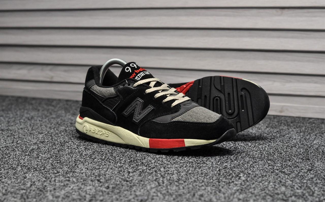 reputable site d85ac ad42f Мужские кроссовки New Balance 998 Black Red