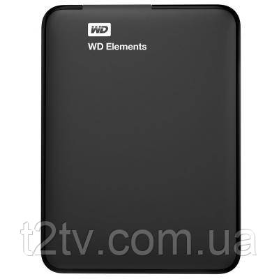 "Внешний жесткий диск 2.5"" 1TB WD (WDBUZG0010BBK-WESN)"