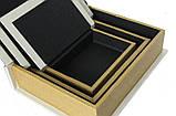 "Книга-шкатулка ""Сова"" (33*24*8 см) комплект из 3 шкатулок , фото 4"