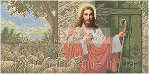 """Бісерна заготовка  """" Ісус стукає у двері"""""""