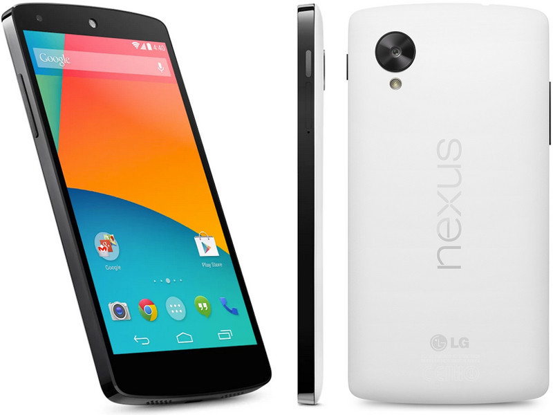 Смартфон LG Nexus 5 32gb white