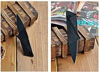 Нож кредитка (Cardsharp Credit Card) размер и форма кредитной карты