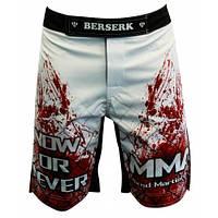 Шорты для MMA BERSERK BLOOD FIGHTER white размеры L,XL