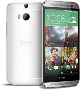 Смартфон HTC One M8 16GB Glacial Silver