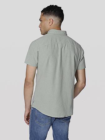 Мужская рубашка бирюзовая Jorportland Shirt One Pocket Plus Size от Jack & Jones в размере 5XL, фото 2