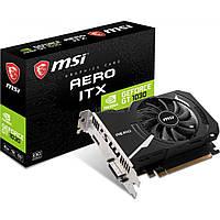 Видеокарта MSI GeForce GT1030 2048Mb AERO ITX OC (GT 1030 AERO ITX 2GD4 OC)