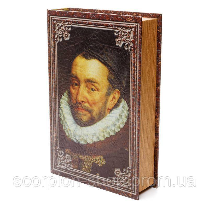 """Книга-сейф """"Шекспир"""" (33*27*7) тайник с ключом"""