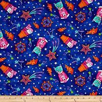 """Американський Бавовна Тканина для Печворку та Рукоділля """"Коти і Печиво"""" 52*55 см, фото 1"""