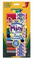 Смываемые мини-фломастеры (14 шт), Crayola