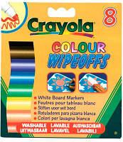 Фломастеры для письма на доске (8 шт), Crayola