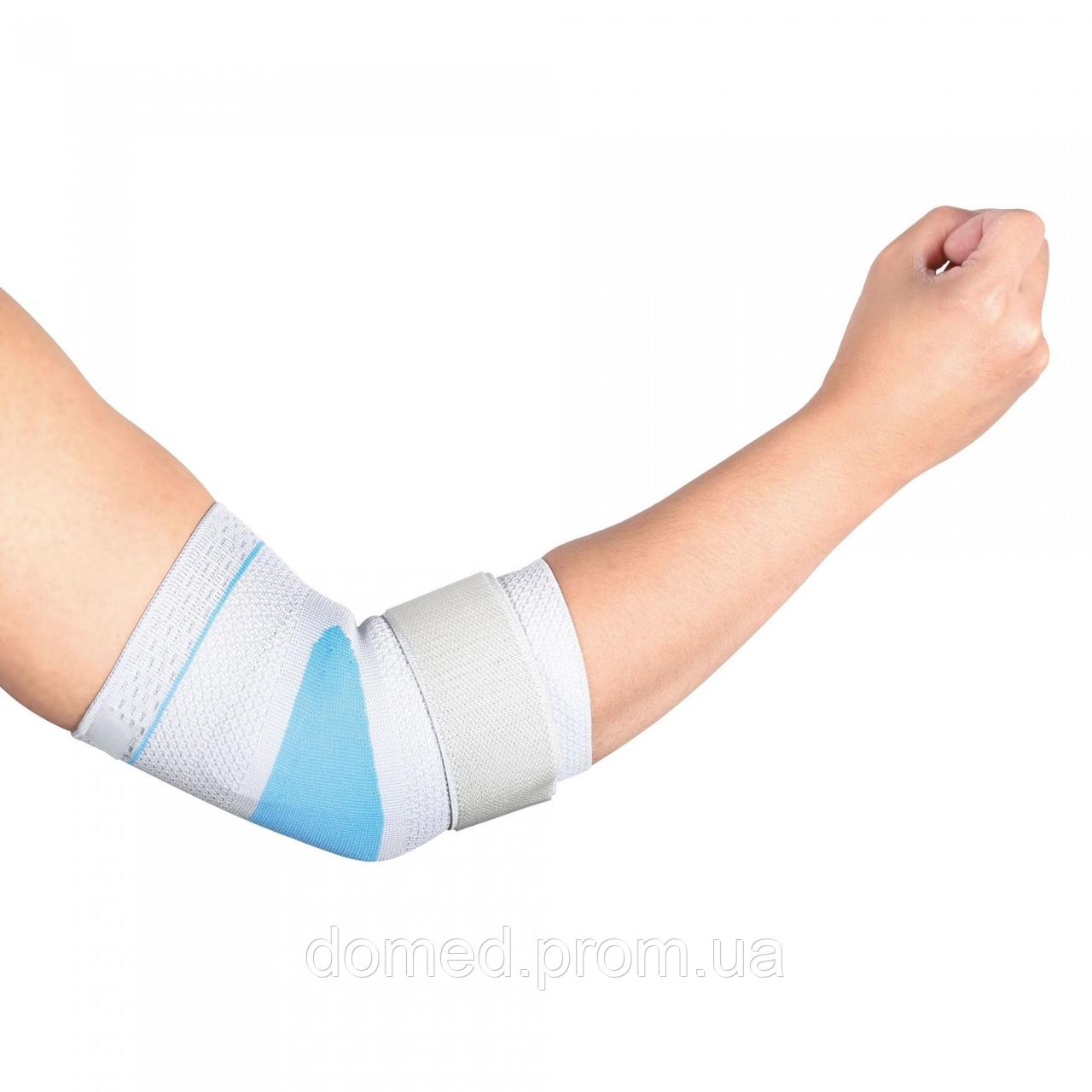 Бандаж Wellcare для локтевого сустава эластичный с силиконовой вставкой Wellcare 31011