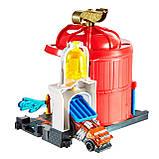 Игровой набор Hot Wheels Центральная пожарная станция, фото 4