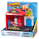 Игровой набор Hot Wheels Центральная пожарная станция, фото 5