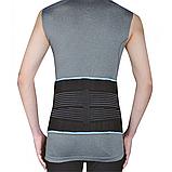 Бандаж для поясницы со стабилизирующими ребрами жесткости Wellcare 23014, фото 2