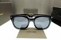 Солнцезащитные очки в стиле Tom Ford 211 black, фото 1