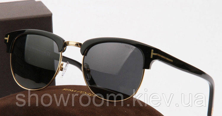 Солнцезащитные очки в стиле Tom Ford 248 black