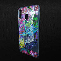 Чехол Samsung M20/M205 Gelius Flowers Tropic