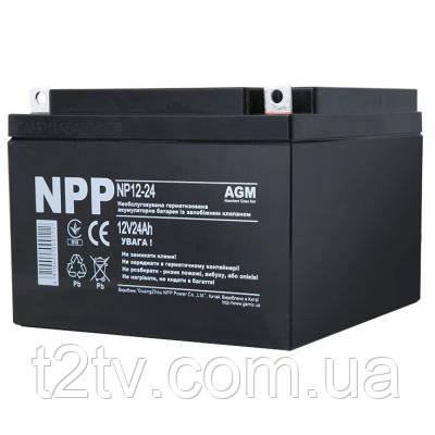 Батарея к ИБП NPP 12В 24 Ач (NP12-24)