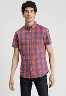 Мужская рубашка в клетку Jorboise One Pocket Plus Size от Jack & Jones в размере 5XL