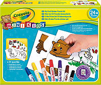 Набор для творчества с фломастерами и наклейками Мой первый пазл, Mini Kids, Crayola