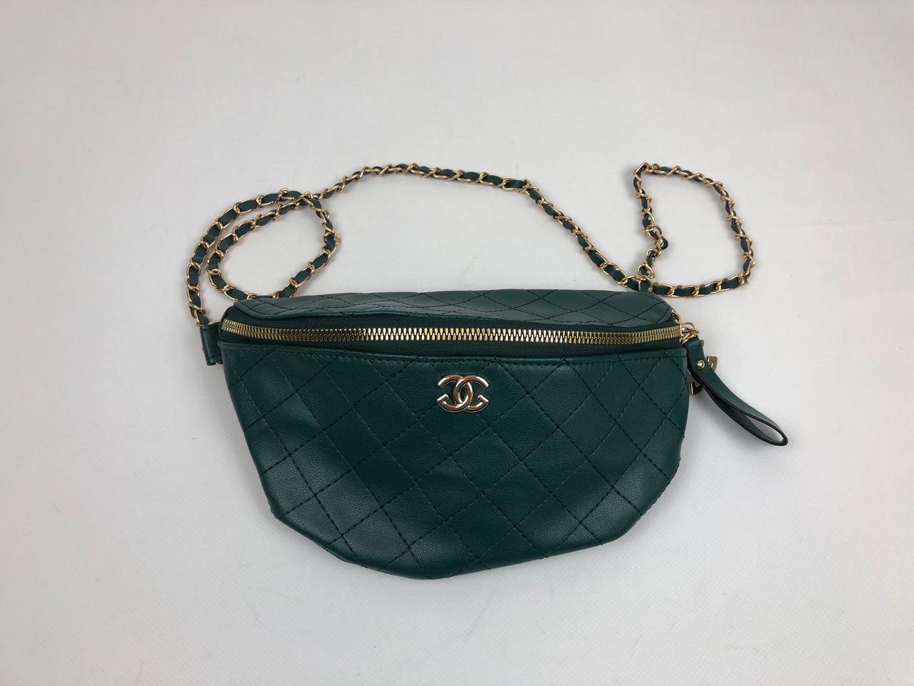 Сумка женская Gucci Темно-зеленая