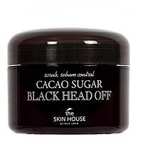 Сахарный скраб для лица с какао The Skin House Cacao Sugar Black Head Off