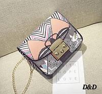 """Брендова жіночий сумка в стилі """"Dolce & Gabbana"""""""