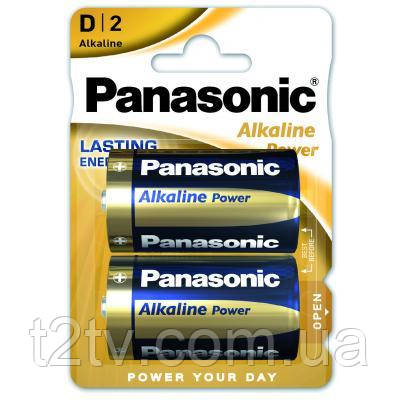 Батарейка PANASONIC D LR20 Alkaline Power * 2 (LR20REB/2BP)