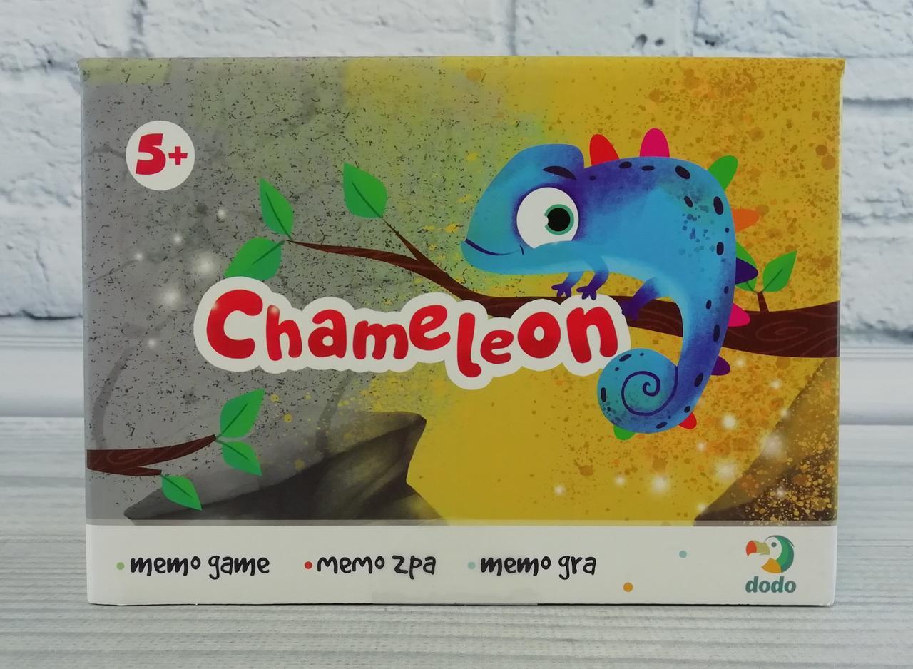 Игра настольная. Карточная. Мемори: Chameleon 300200 dodo Украина