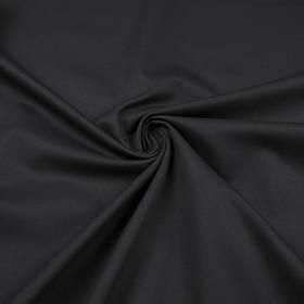 Габардин черный ткань
