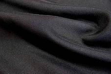 Габардин черный ткань, фото 2