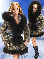 Одежда для кукол Барби - шубка