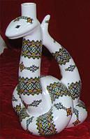 Штоф Змея керамика, разработка и изготовление корпоративного подарка из фарфора и керамики под заказ