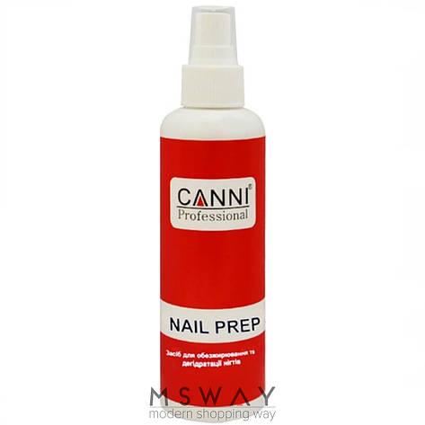 CANNI Средство для обезжиривания, дегидрации ногтей Nail Prep Спрей 120ml, фото 2