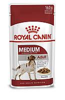 Паучи Royal Canin MEDIUM ADULT для взрослых собак средних пород